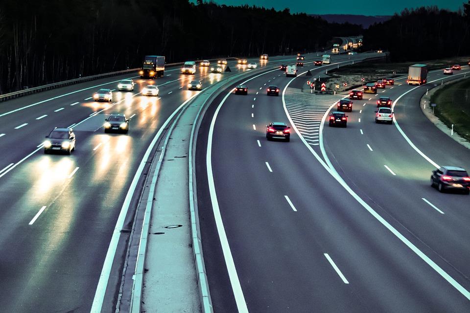 dálniční provoz