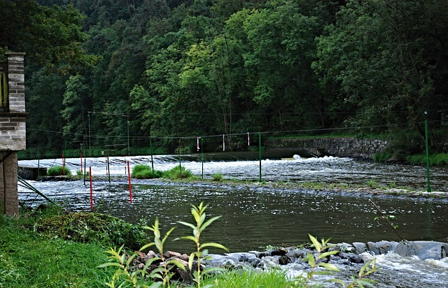 značky na řece