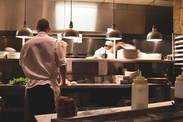kuchyně v restauraci