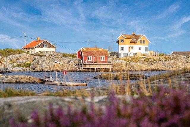 domy u vody