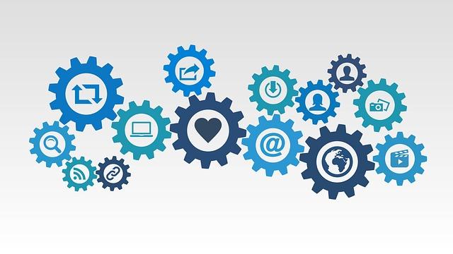 znázornění propojení jednotlivých oblastí marketingu
