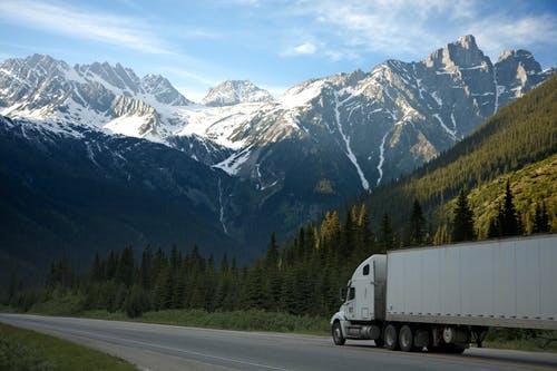 kamion hory